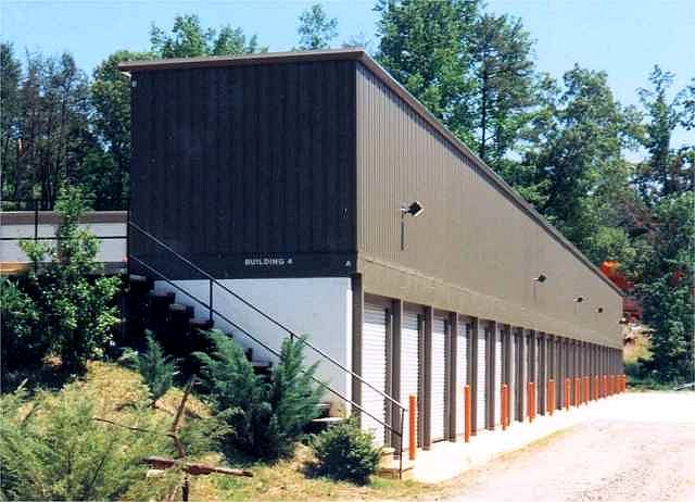 self storage metal building